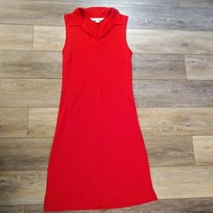 Casual Corner red dress